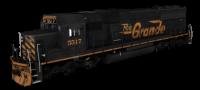 DRGW SD50