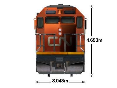 Locomotive database gm emd sd40 2 for Electro motive division of general motors